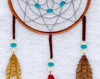 TRADITIONAL DREAM CATCHER - Machine Embroidered Quilt Blocks (AzEB)