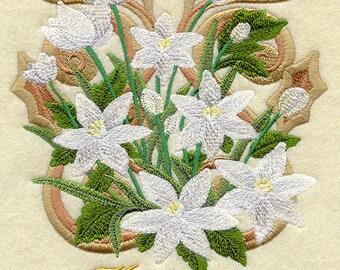 VICTORIAN STAR Of BETHLEHEM - Hope - Machine Embroidery Quilt Block (AzEB)