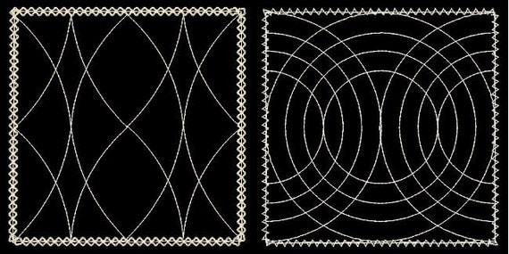 QUILTING BACKGROUNDS - 30 Machine Embroidery Designs Instant Download 4x4 5x7 6x10 hoop (AzEB)