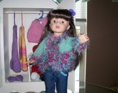 American Girl Doll Hand Knit Sweater
