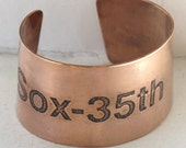 Chicago Sox-35th Subway Stop Cuff