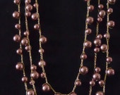 Three-Stranded Necklace (10-18)