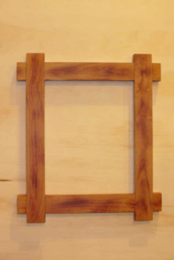 handmade wood picture frames handcrafted cherry wood picture frame 8 x 10 by roroswoodshop 9524