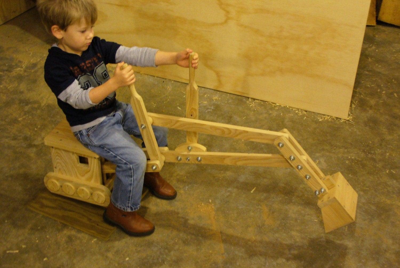 Child Powered Sandbox Digger