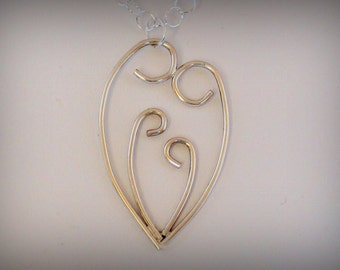 Necklace - Silver Family Two