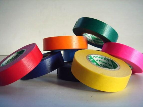 Japanese Masking Tape Pack of 8 - Vivid Color