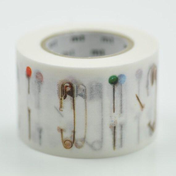 Japanese Masking Tape 1 Piece - Safety Pin