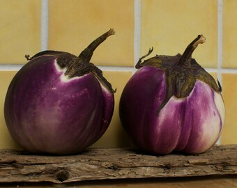 Rosa Bianca Eggplant Seeds