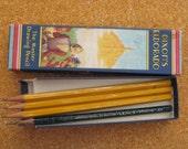 vintage box of pencils DIXON'S ELDORADO