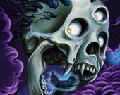 Dread of Night Canvas Print 11x14