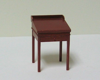 Schoolmaster's Desk - 1/12th scale