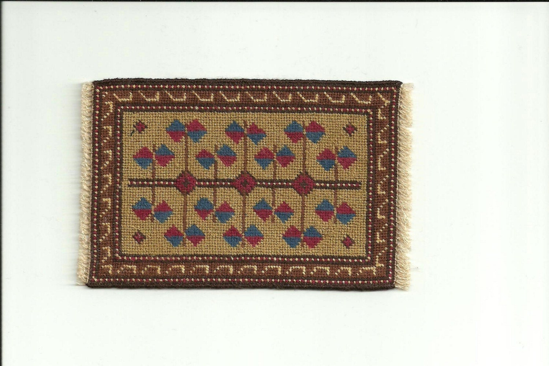 Miniature Oriental Rug 1 12th Scale