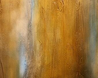 "Abstract Acrylic Painting - ""Frail Autumn V"""