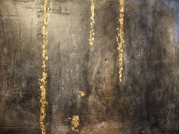 """Abstract Mixed Media Painting - """"The Ancient"""""""