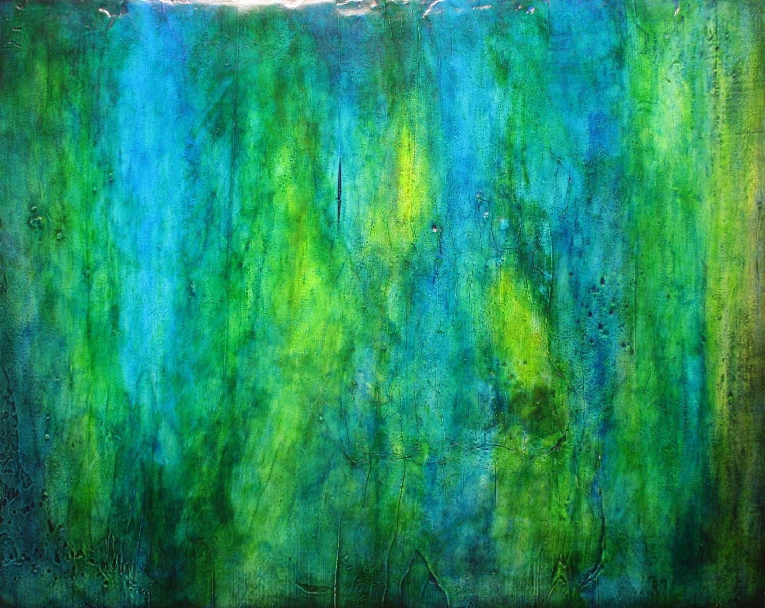 Abstract green paintings amazing wallpapers for Abstract mural art