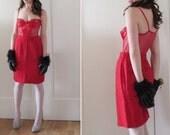 trashy mesh lace teddy . cinnamon heart non valentine no way .extra small .sale