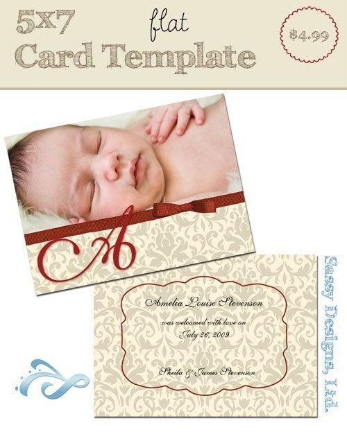 5x7 flat card template classy for 5x7 postcard mailing template