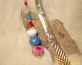 PATRIOTIC BOOKMARK, Red, White and Blue