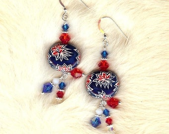 FIREWORKS EARRING SET by BonnieKaren