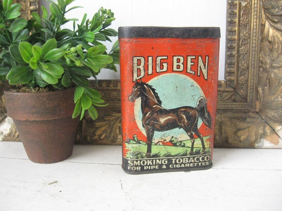 Big Ben Tobacco Tin , By Brown and Williamson, 1950's