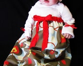 SALE - Vickie - Mom & Baby Pkg - Maternity Hospital Gown-Dress - Custom or Ready to Ship - Perfect for Nursing - Personalize For 10 Dollars