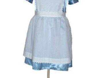 Custom Boutique ALICE IN WONDERLAND Adult Size Costume Dress Set