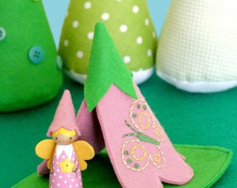 Felicity Fairy and Flower Teepee PDF Pattern