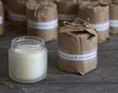 soy candle - geranium and rosewood