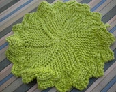 Green textured Cotton Cloth