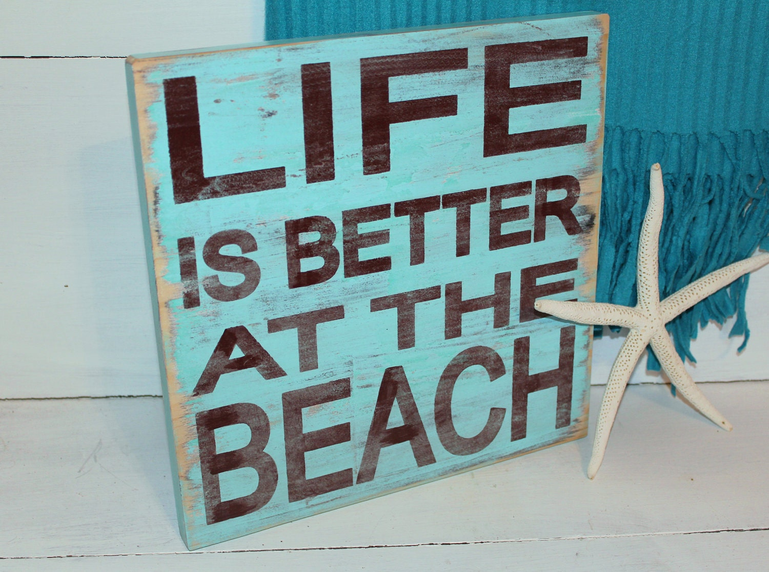 Beach Quotes: Beach Sign Life Is Better Nautical And Nursery Home Decor