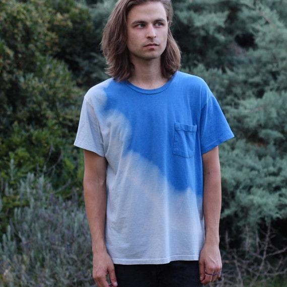 Dip Dye Pocket T-Shirt - M/L