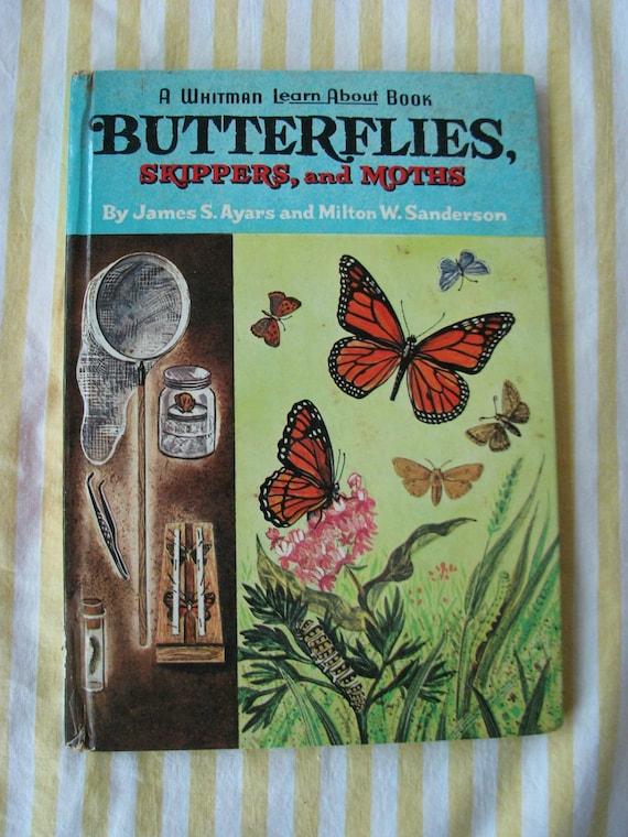 FUN Vintage 1964 Butterflies book