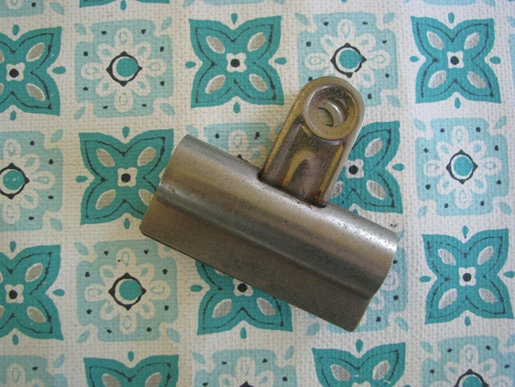 Vintage Metal Clips for crafts and more