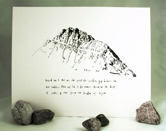 Tryfan - Welsh Mountain Collection