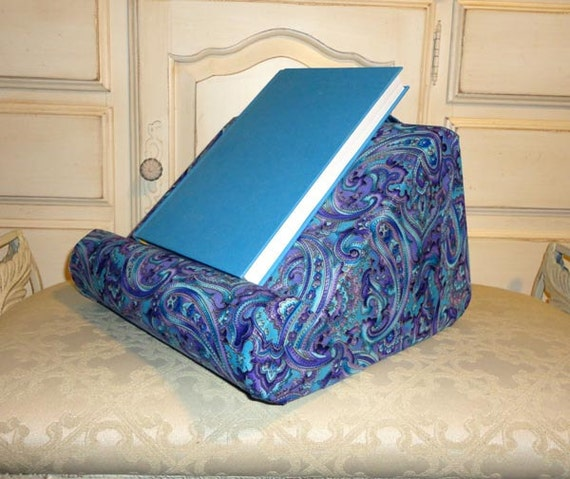 Soft Book Holder For Your Lap but It Has Many Uses In Many Places
