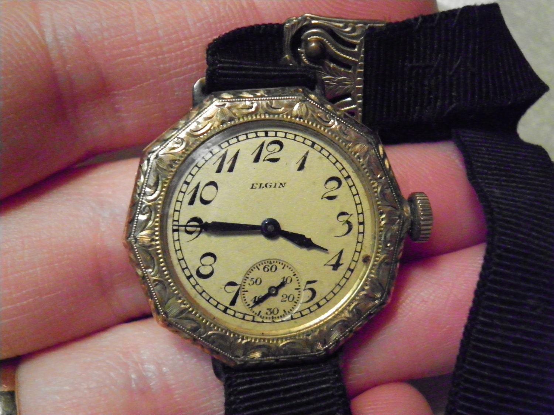 Antique 1922 Elgin 15 Jewel Ladies Watch By