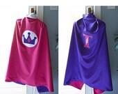 Superhero Cape / Princess Cape - Toddler/Youth size - Custom