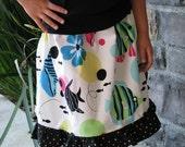Twirling Tropical Twirl skirt - sizes newborn - Girls 8