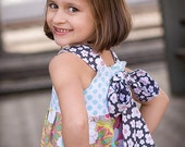 Catalina Reverse Knot Dress - sizes 6 months - Girls 10