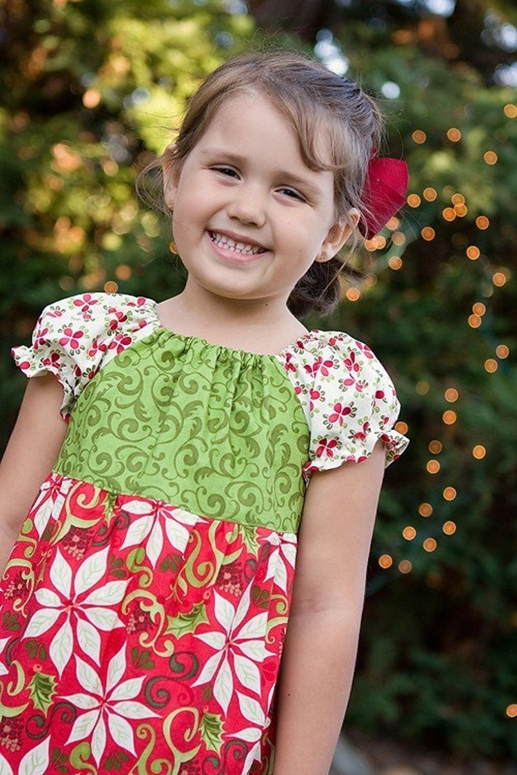 Only 1 left 12 days of christmas twirl dress by curiousgeorgia