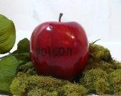 POISON Apple rustic apple cake topper - Snow White Inspired Cake Topper