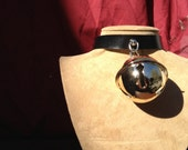 Huge Gold Colored Bell Collar