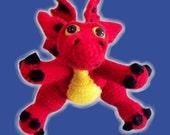 Dragon Crochet Pattern - PDF