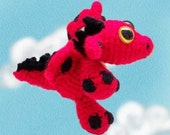 Mini-Dragon Crochet Pattern - PDF
