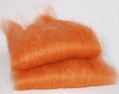 Masham Orange Sherbet  Spinning Batts- 2 ounces