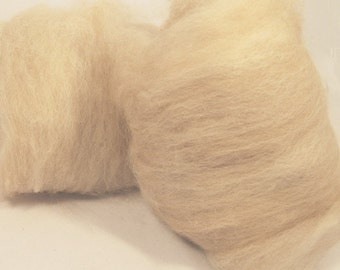 Alpaca Fawn Spinning Batts  -  4 ounces