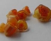 10 Yellow Rose Murrini