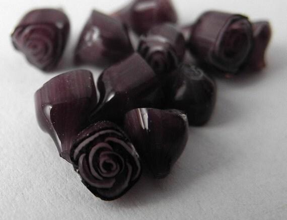 10 Rose murrini lila