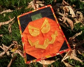 Scary Jack Quilted Card