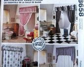 McCalls 8658 Home Decorating Bathroom Essentials
